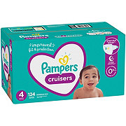 Pampers Cruisers Diapers 124 ct