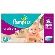 Pampers Cruisers Diapers 128 ct
