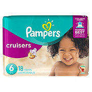 Pampers Cruisers Diapers 18 ct