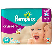 Pampers Cruisers Diapers 21 ct