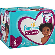 Pampers Cruisers Diapers 52 ct