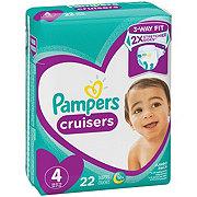 Pampers Cruisers Jumbo 22 ct