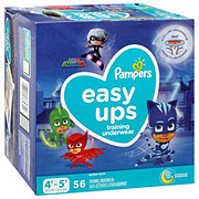 Pampers Easy Ups Boys Training Underwear 56 pk