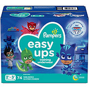 Pampers Easy Ups Boys Training Underwear 74 pk