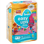 Pampers Easy Ups Girls Training Underwear 18 pk