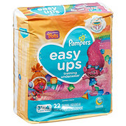 Pampers Easy Ups Girls Training Underwear 22 pk