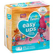 Pampers Easy Ups Girls Training Underwear 25 pk