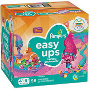 Pampers Easy Ups Girls Training Underwear 56 pk