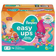 Pampers Easy Ups Girls Training Underwear 74 pk