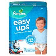 Pampers Easy Ups Training Underwear Boys 19 pk