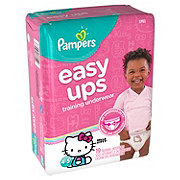 Pampers Easy Ups Training Underwear Girls 19 ct