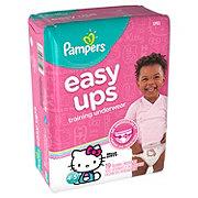 Pampers Easy Ups Training Underwear Girls 19 pk