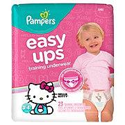Pampers Easy Ups Training Underwear Girls 23 pk