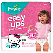 Pampers Easy Ups Training Underwear Girls 26 ct