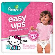 Pampers Easy Ups Training Underwear Girls 26 pk