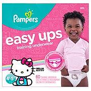 Pampers Easy Ups Training Underwear Girls 60 pk