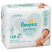 Pampers Sensitive Sensitive Travel Packs Wipes