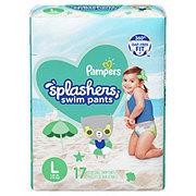Pampers Splashers, 17 ct