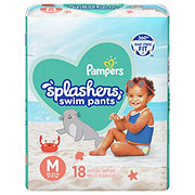 Pampers Splashers, 18 ct