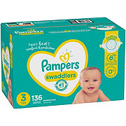 Pampers Swaddlers Diapers 136 ct