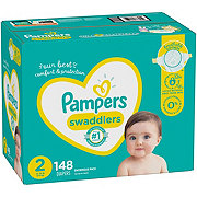 Pampers Swaddlers Diapers 148 ct