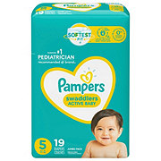 Pampers Swaddlers Diapers 19 ct