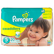 Pampers Swaddlers Diapers 20 ct