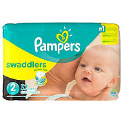 Pampers Swaddlers Diapers 32 ct