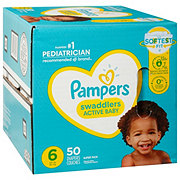 Pampers Swaddlers Diapers 50 ct