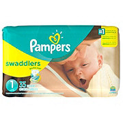 Pampers Swaddlers Newborn Diapers 35 ct
