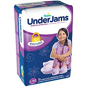 Pampers UnderJams Bedtime Underwear Girls 11 pk