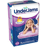 Pampers UnderJams Bedtime Underwear Girls, 14 ct