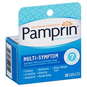 Pamprin Maximum Strength Multi-Symptom Menstrual Pain Relief Coated Caplets