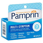 Pamprin Multi-system Complete Menstrual Pain Relief Caplets