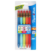 Paper Mate Mates Easy-To-Hold #2 Mechanical Pencils