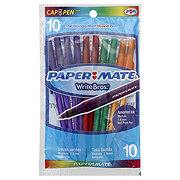 Paper Mate WriteBros 1.0 mm Assorted Ink Ball Point Pens