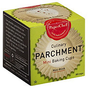 PaperChef Culinary Parchment Mini Baking Cups