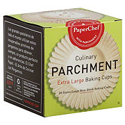 PaperChef XLG Culinary Parchment Baking Cups