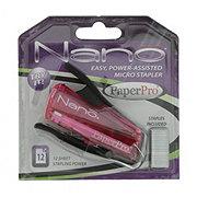 PaperPro Nano Translucent Stapler Assorted Colors