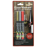 Parker & Bailey Glass Markers