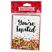 Party Creations Sprinkles Invitations