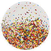 Party Creations Sprinkles Plate