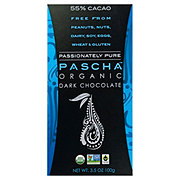 Pascha 55% Cacao Organic Dark Chocolate Bar