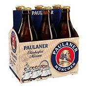 Paulaner Oktoberfest Amber Ale Beer 12 oz Bottles