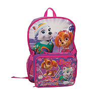 Paw Patrol Backpack With Lunch Kit