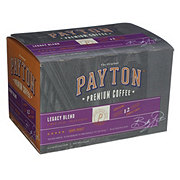 Payton Legacy Blend Single Cups Dark Roast