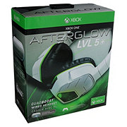 PDP Afterglow Lvl 5 Plus White Stereo Headset for Xbox One