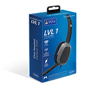 PDP Playstation 4 Afterglow LVL 1 Gaming Chat Communicator Headset