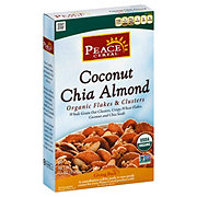 Peace Organic Coconut Chia Almond Flakes and Clusters Cereal