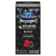 Pedialyte AdvancedCare Plus Powder Packs, Berry Frost